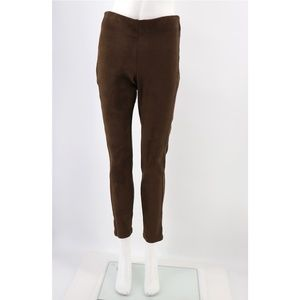 NWT Collection by Bobeau Faux Suede Pull-On Pants